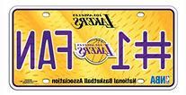 Los Angeles Lakers #1 Fan Metal License Plate *SALE