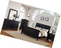 Poundex Louis Phillipe Bedroom Set Featuring French Style