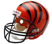 NFL Cincinnati Bengals Deluxe Replica Football Helmet