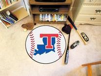 "Fanmats Louisiana Tech Baseball Mat 27"" diameter"