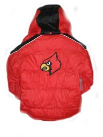 Louisville Cardinals Red Black NCAA Youth Jacket