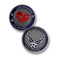Love My Airman - Air Force Challenge Coin