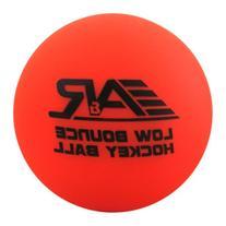 A&R Sports Low Bounce Street Hockey Ball, Orange