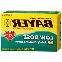 Bayer Aspirin Regimen Low Dose 81mg Enteric Coated Pain