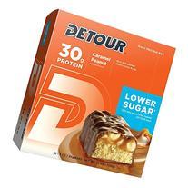 Detour Lower Sugar Nutrition Bars, Caramel Peanut, 85 Gram