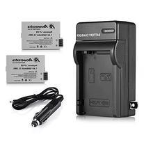 Powerextra 2 Pack Replacement Canon LP-E8 1800mAh Li-ion