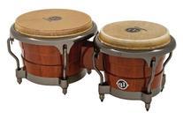 Latin Percussion  LP Durian Wood Bongos,Natural/Chrome