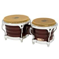 Latin Percussion LP201AX-2DW Bongo Drum Wine Red / Chrome