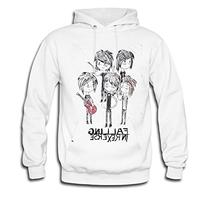 LR Womens Falling In Reverse Chibi Fied Cotton Hoodie