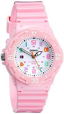 Casio Women's LRW-200H-4B2VCF Pink Stainless Steel Watch