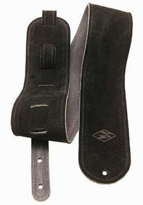 LM Products LS304B 3-Inch Reversible Suede Leather Guitar