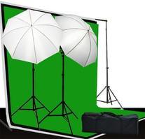 Fancierstudio Video and Photography Lighting Kit - 3 Muslin