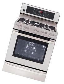 """LSRG307ST 30"""" Freestanding Gas Convection Range with 5.4 cu."""