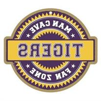 LSU Tigers Official NCAA Fan Zone Wood Sign by SJT