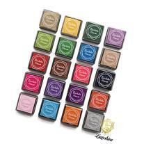 Lsushine Craft Ink Pad Stamps Partner Diy Color,20 Colors