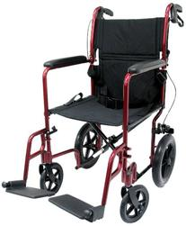 Karman Healthcare LT-1000HB-BD Folding Aluminum Transport