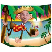 Luau Monkey Photo Prop Party Accessory