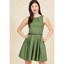 Luck Be a Lady A-Line Dress