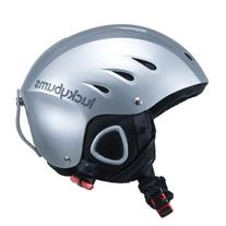 Lucky Bums Snow Sport Helmet, Silver, X-Large