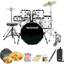Ludwig Accent Fuse 5-Pc Fusion Size Drum Set with Zildjian