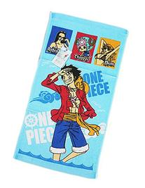 One Piece Luffy Robin Chopper and Nami Blue Colored Beach/