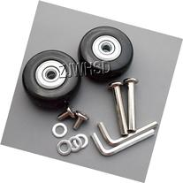 Luggage Suitcase Replacement Wheels OD 43mm  ID 6mm  W 19mm