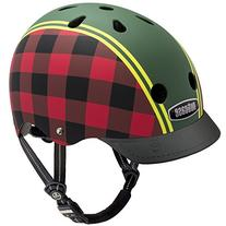 Nutcase Lumberjack Matte Street Helmet, Small
