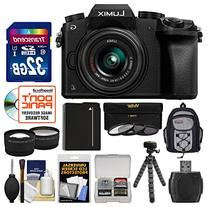 Panasonic Lumix DMC-G7 4K Wi-Fi Digital Camera & 14-42mm Lens  with 32GB Card + Backpack + Battery + Flex Tripod + Filters + Tele/Wide Lens Kit