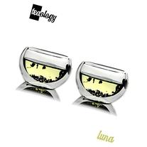 Set of 2 Teaology Luna Double Wall Borosilicate Tea/Espresso