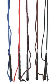 Partrade P-Lunge Whip 72in W 84in Drop And Popper- Royal