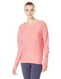 Oiselle Women's Lux Sweatshirt Long Sleeve Top, Punch, 6