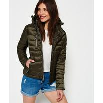 Superdry Luxe Fuji Zip Hooded Jacket