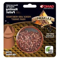 Gamo 632282154 Luxor CU Sharp Pyramid Hunting Pellets