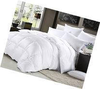 Elliz Luxurious Lightweight White Down Comforter Light