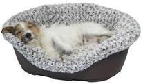 40 Winks Luxury Plush Bed Cover, 18-Inch, Mink