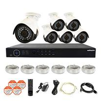 LaView 6 1080P IP Camera Security System, 8 Channel 1080P IP