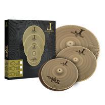 "Zildjian LV348 L80 Low Volume 3-Piece Box Set - 13"" Hat, 14"