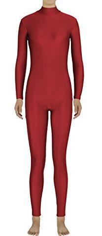 JustinCostume Women's Lycra Spandex Unitard Bodysuit