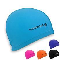 Swimtastic Lycra Swim Cap, Blue