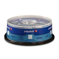 Verbatim M-Disc DVDR 4.7GB 4X with Branded Surface - 25 Pack