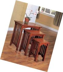 Coaster 901049 3-Piece Mission Style Occasional Nesting Side