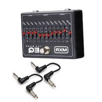 MXR M108 Ten Band Graphic EQ Guitar or Bass Pedal with 2