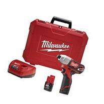 New Milwaukee 2462-22 M12 12 Volt Cordless Impact Drill