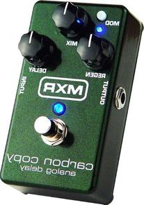 MXR M169 Carbon Copy Analog Delay with 4 Free Cables