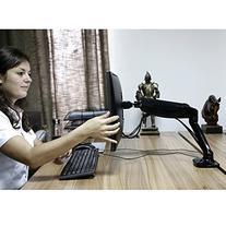 FLEXIMOUNTS M3H Heavy duty LCD Stand Full Motion Desk Mount