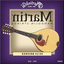 Martin M400 Mandolin Strings, Light