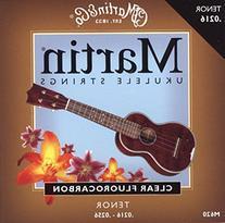 Martin M620 Ukulele Strings Fluorocarbon, Tenor