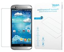 NOOT® HTC One M8 HD Tempered Glass Screen Protector Clear