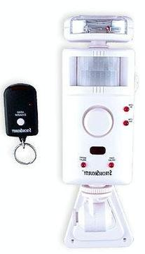UniquExceptional MA795DC Strobe Motion Activated Alarm and