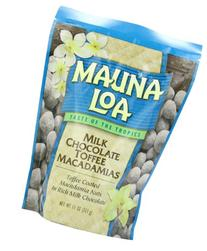 Mauna Loa Macadamias, Milk Chocolate Toffee, 11-Ounce